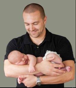 Carlos and baby Kate